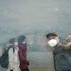 Menschen, Maske, Krankheit, Lunge