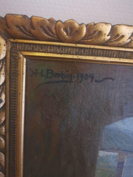 Pinnwand, Unterschrift