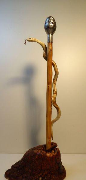 Kampf, Mann, Natter, Sozial, Skulptur, Holz