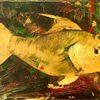 Meeresflora, Acrylmalerei, Fisch, Malerei