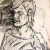 Hart, Pastellmalerei, Felsen, Zeichnungen