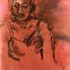 Rot, Licht, Versonnen, Malerei