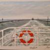 Meer, Fähre, Langeoog, Überfahren