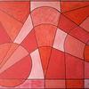 Formen, Geometrisch, Rot, Malerei