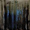 Schwarz, Durchdringend, Blau, Malerei