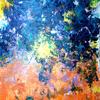 Sonne, Wasser, Feuer, Malerei