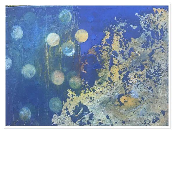 Blau, Abstrakt, Wasser, Bubbles, Freude, Meeresgrund