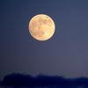 Blau, Mond, Farben, Wolken