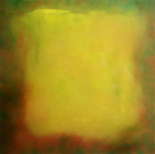 Finden, Farbfeldmalerei, Glühen, Malerei, Farbfeld malerei