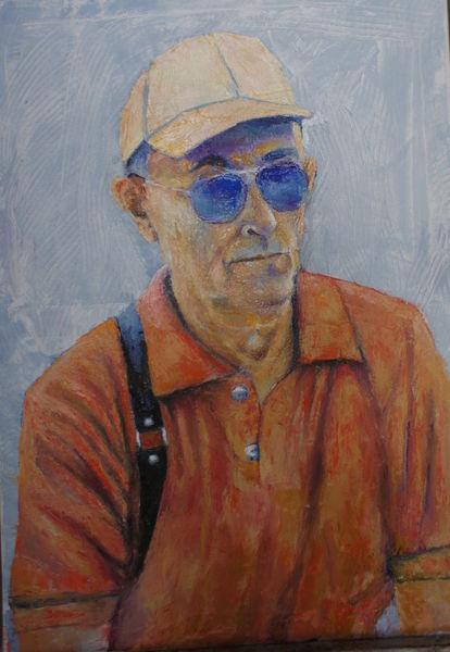 Ölmalerei, Portrait, Figural, Malerei