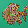 Malerei, Gemälde, Fisch