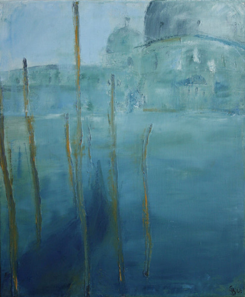 Malerei, Spachtel, Venedig