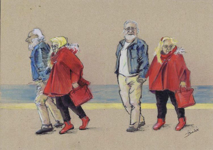Chic, 68er, Malerei, Schatz,