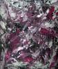Acrylmalerei, Action painting, Abstrakt, Chaos