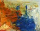 Abstrakt, Acrylmalerei, Malerei, Fernweh