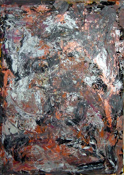 Acrylmalerei, Action painting, Abstrakt, Malerei, Bad,
