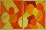Abstrakt, Ricca, Malerei