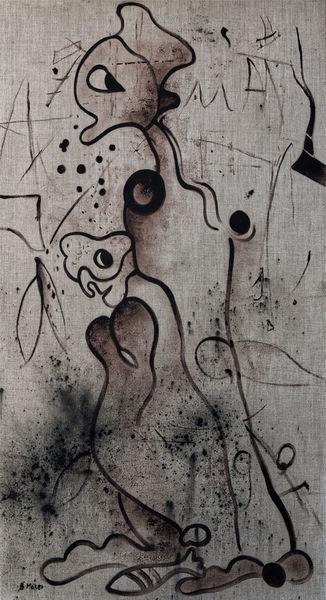 Ölmalerei, Monochrom, Malerei,