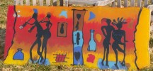 Kunsthandwerk, Oberirsen, Farben, Glas