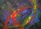 Malerei, Abstrakt, Leben