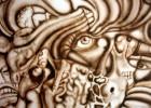Malerei, Airbrush, Surreal, Schmerz