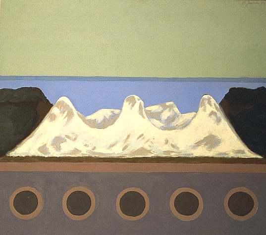 Entartete kunst, Malerei, Gemälde, Berge, Salzberg, Düsseldorf