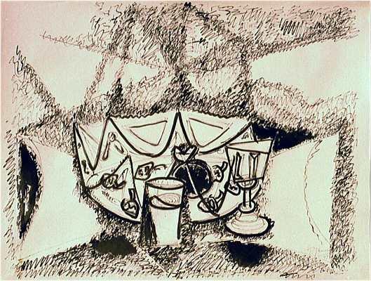 Entartete kunst, Zeichnung, Expressionismus, Glas, Holocaust, Impressionismus