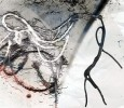 Digital, Tim burton, Faden, Abstrakt