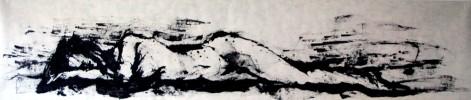 Liegen, Detmering, Abstrakt, Malerei