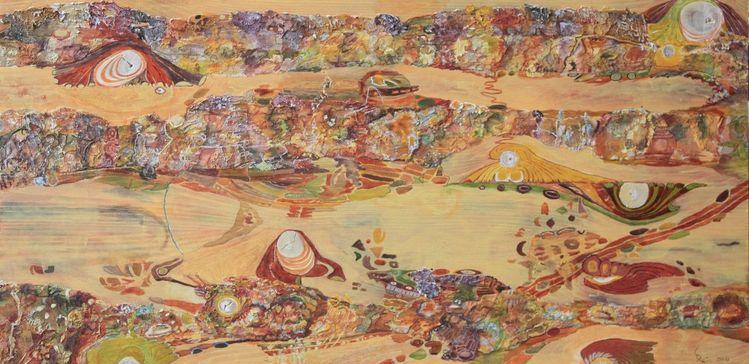 Acrylmalerei, Abstrakt, Holz, Malerei, Malerei ii, Tal