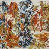 Abstrakt, Acrylmalerei, Mythos, Karton