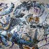Acrylmalerei, Mythos, Traum, Farben
