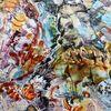 Acrylmalerei, Farben, Abstrakt, Traum