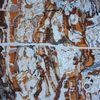 Acrylmalerei, Abstrakt, Holz, Traum