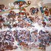 Traum, Farben, Acrylmalerei, Holz