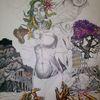 Glaube, Hoffnung, Liebe, Zeichnungen