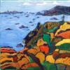 Malerei, Meer, Ile, Landschaft