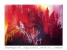 Intensiv, Abstrakt, Feuer, Malerei