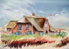 Sylt, Haus, Malerei, Landschaft