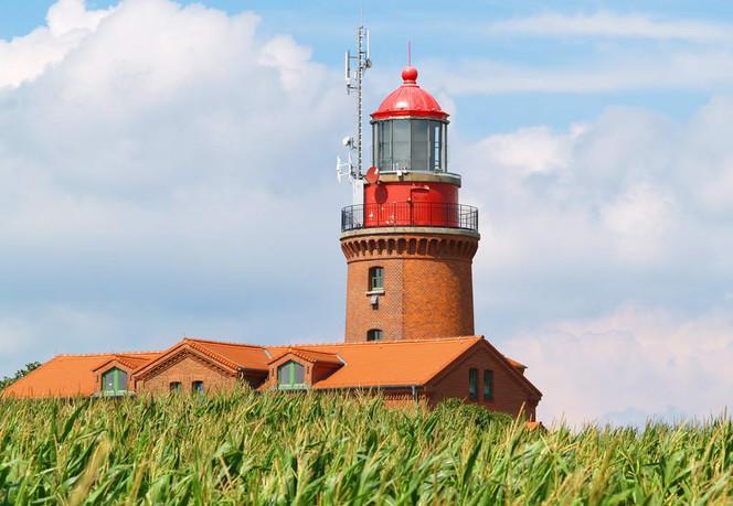 Lichtsignal, Schiff, Ostsee, Himmel, Gebäude, Architektur