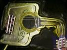 Schlüssel, Digital, Gitarre, Digitale kunst