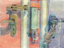 Malerei, Stillleben, Serie, Wohnung