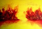 Leid, Hass, Worte, Malerei