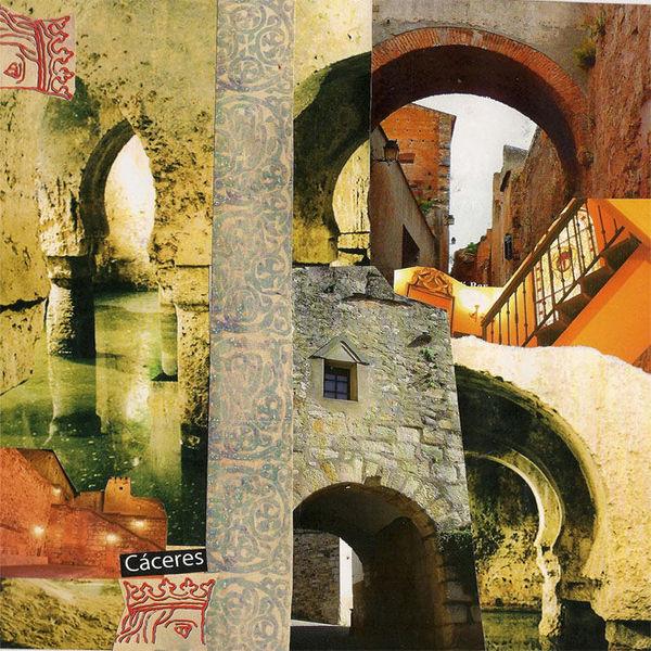 Café, Menschenleer, Extremadura, Zisternen, Genuss, Palast