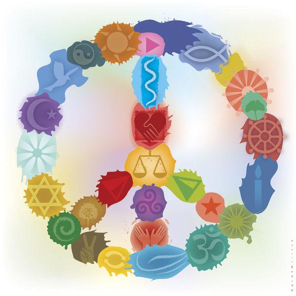 Harmonie, Farben, Gleichgewicht, 2015, Friedenssymbol, Symbol