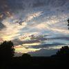 Lichtschatten, Himmelwolken, Abendleise, Fotografie