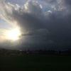 Wasser, Himmel, Wolken, Sonne