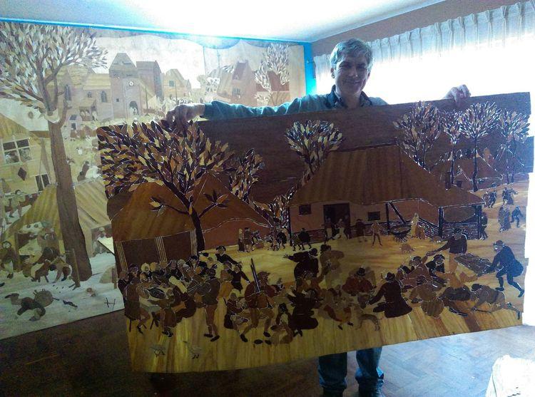 Heimat, Dirndl, Lederhose, Tracht, Naturholz, Kunsthandwerk