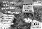 Einwanderungsgesellschaft, Kulturarbeit, Anzeige, Grafik