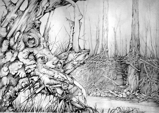 Surreal, Zeichnung, Zeichnungen